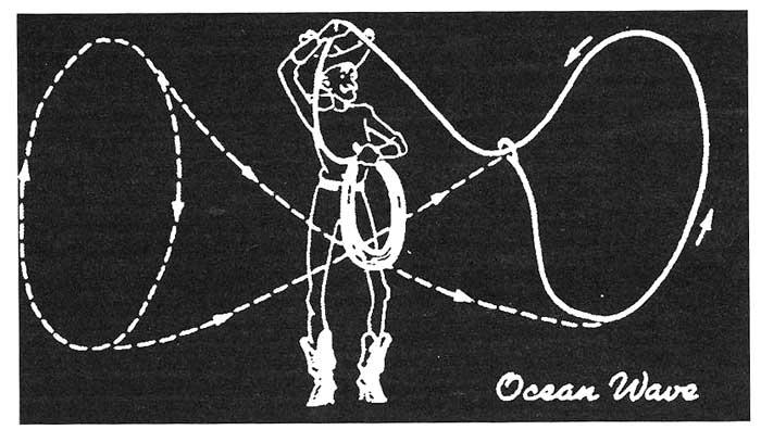 ocean wave rope trick