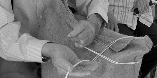 Sack Sewing with Wayne Ryan