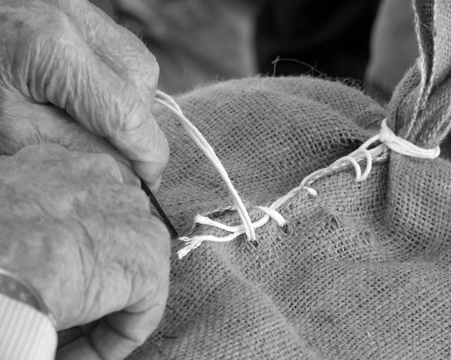 Sack Sewing with Wayne Ryan