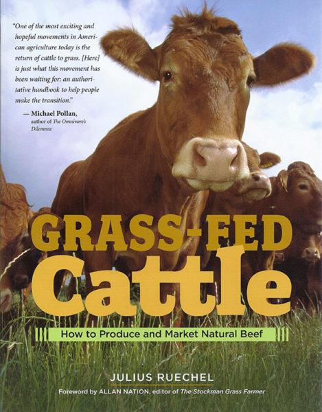 """Grass Fed Cattle"" by Julius Ruechel"