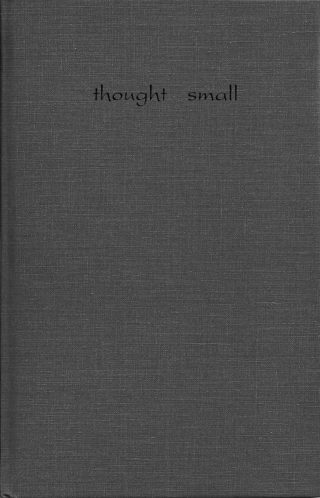 """Thought Small"" by Lynn Miller"