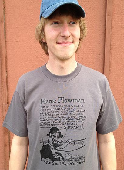 """Fierce Plowman"" T-Shirt"