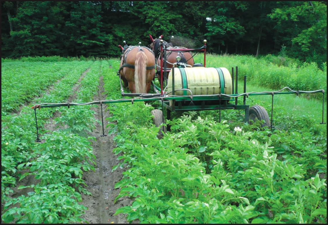 Horsedrawn Produce Sprayer