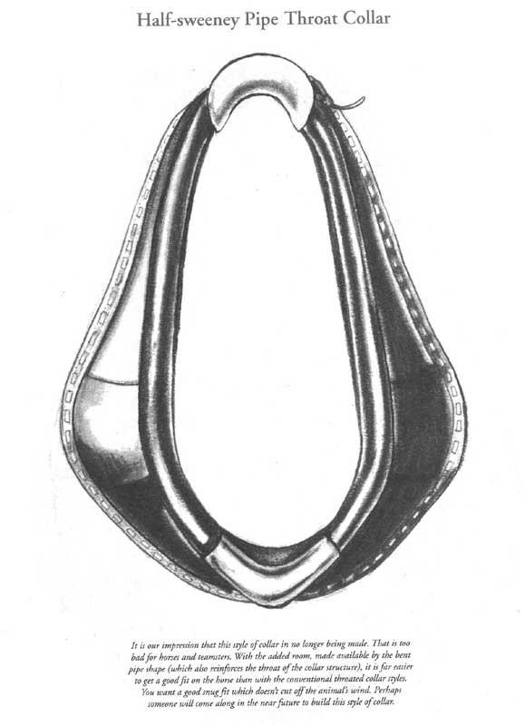 Half-Sweeney Pipe Throat Collar