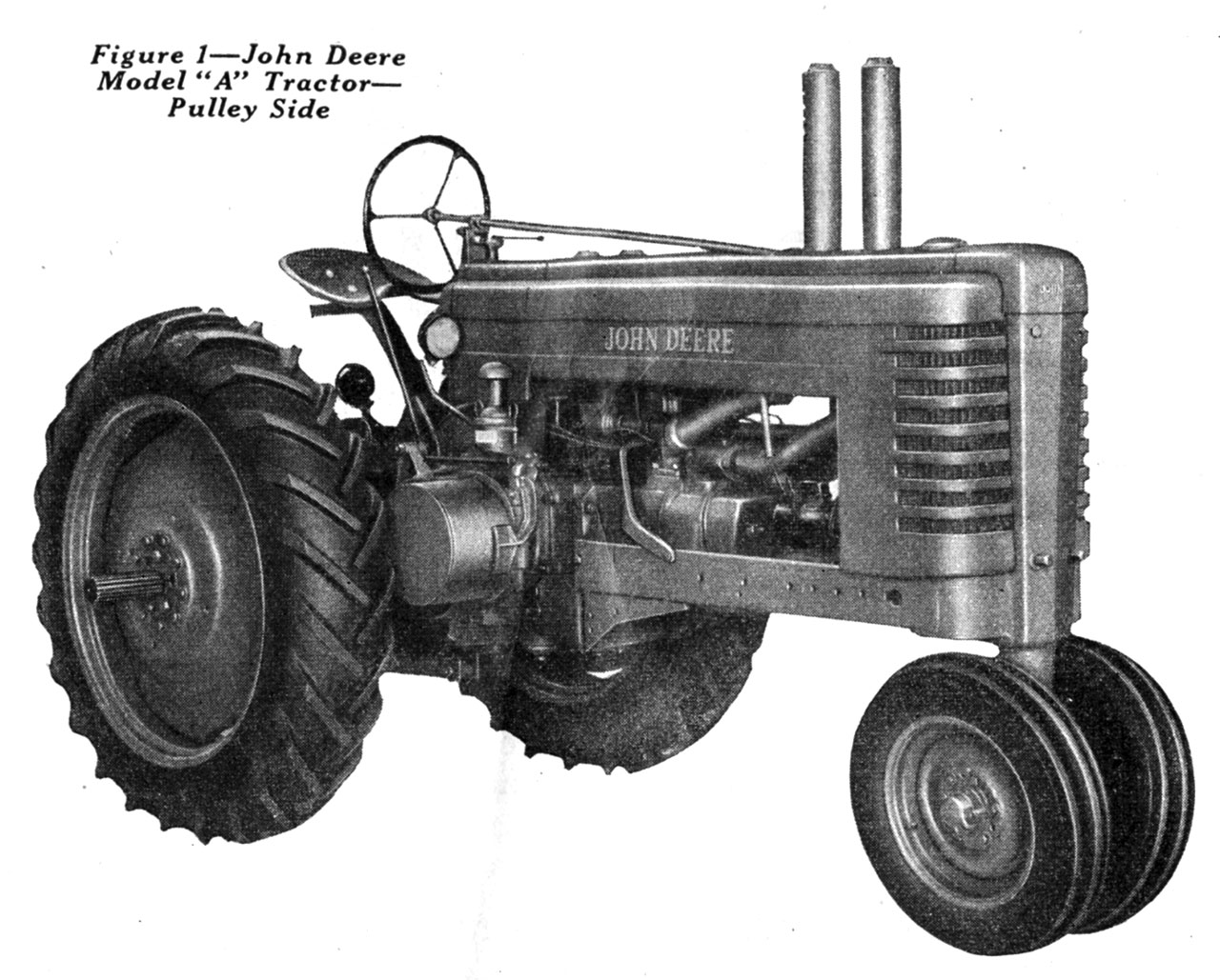 John Deere Model A Tractor – Small Farmer's Journal