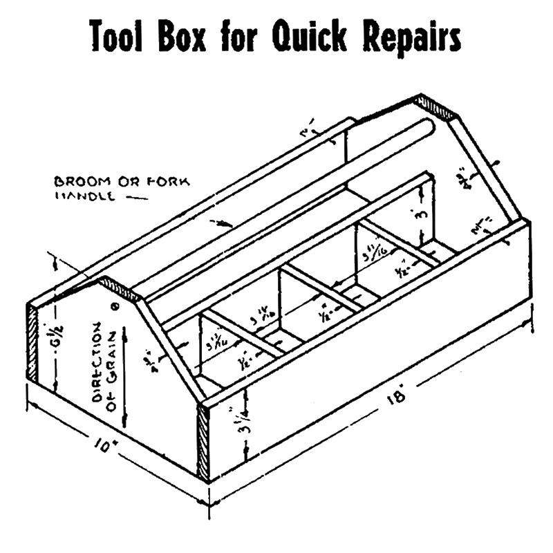 Tool Box for Quick Repairs