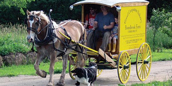 The Farm & Bakery Wagon