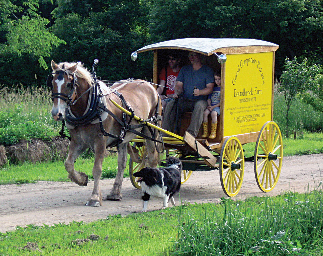 The Farm & Bakery Wagon
