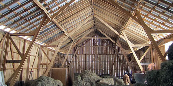 Building a Community, Building a Barn