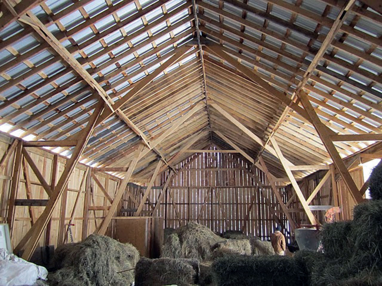 building a community building a barn small farmer 39 s journal