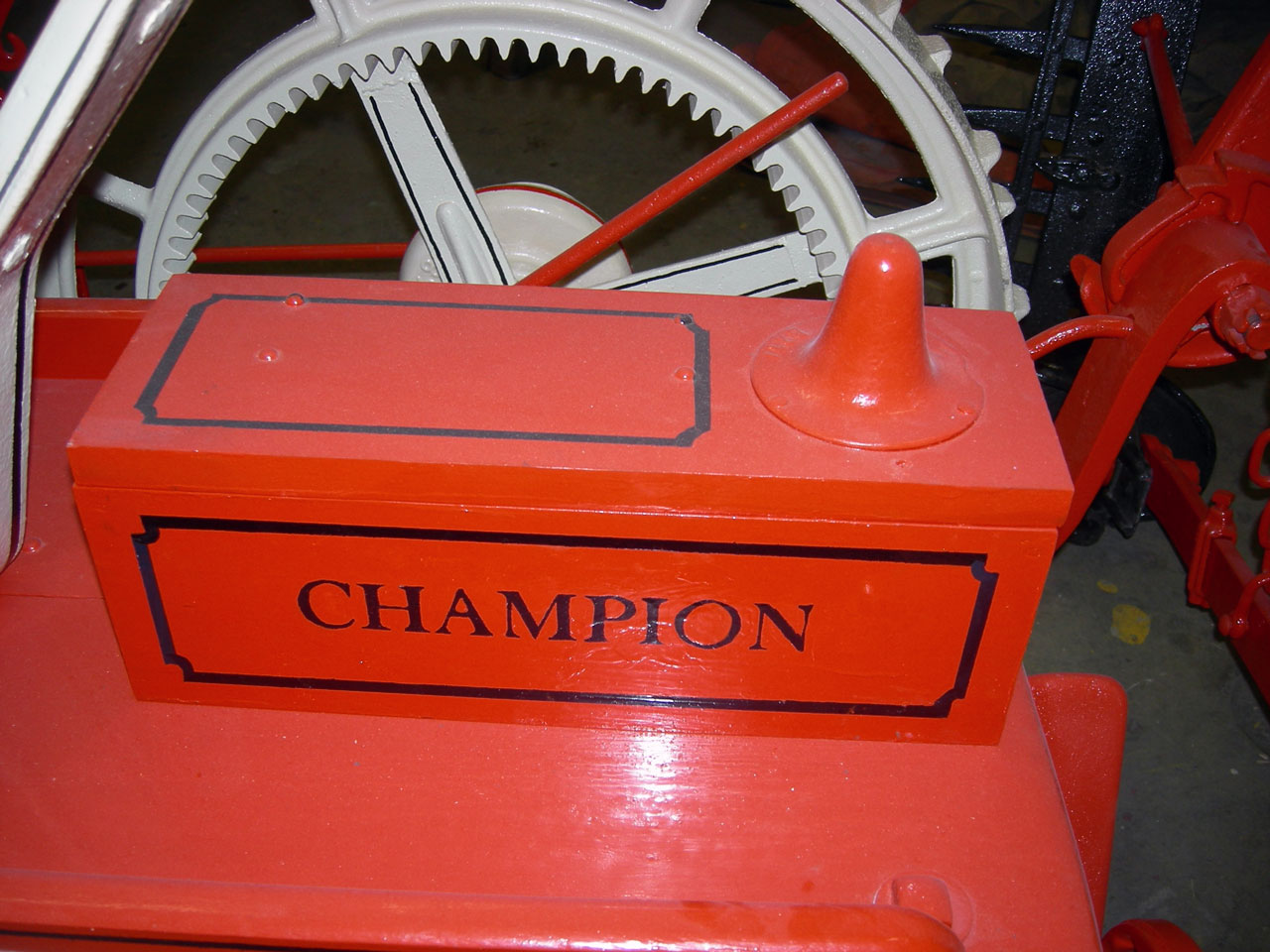 Champion No.4 Mower Reaper