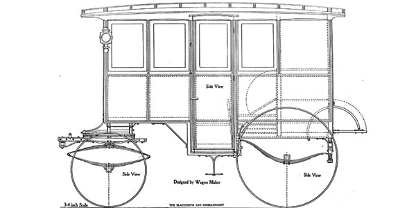 Delivery Wagon Plans