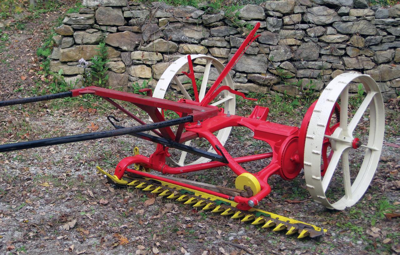 Center Cut Mower – Small Farmer's Journal