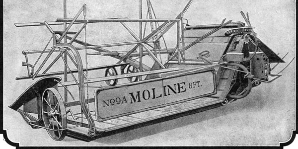 Moline Grain Binder No 9-A Left Hand