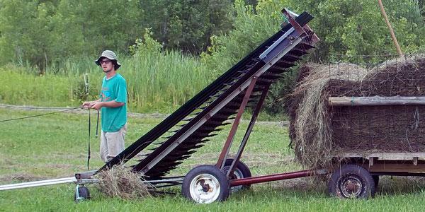 Geiss New-Made Hay Loader