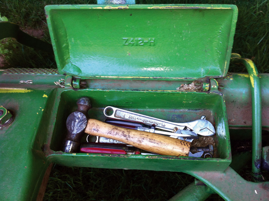 LittleField Notes Mower Notes