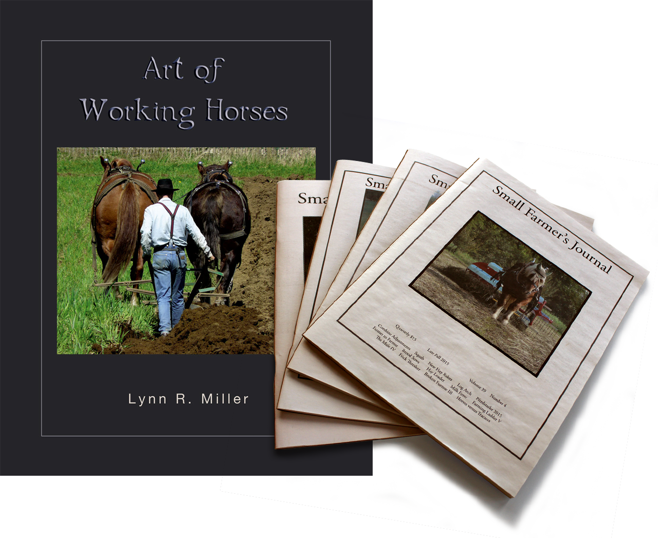 Art of Working Horses + SFJ 1-Year Subscription