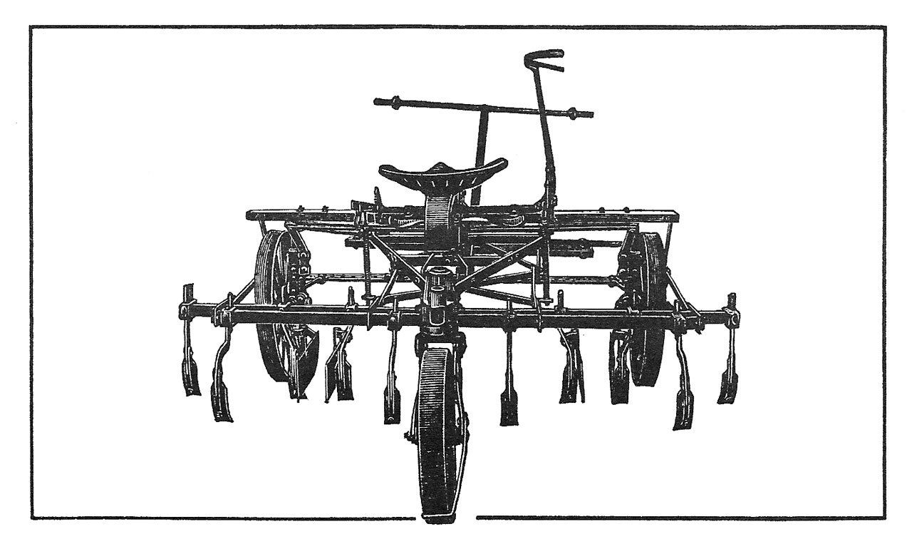 Planet Jr Two Horse Equipment