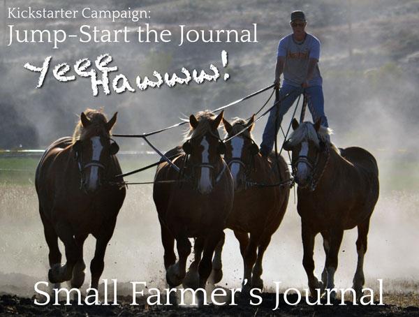 Small Farmer's Journal Kickstarter Campaign Jump-Start the Journal