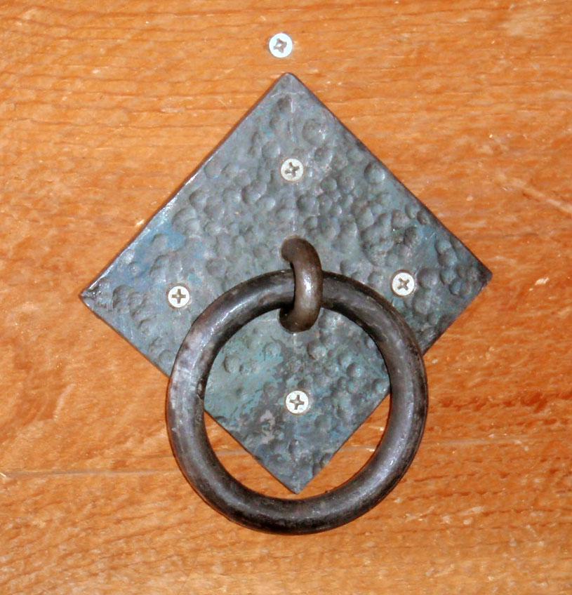 Forging Rings in the Farm Blacksmith Shop