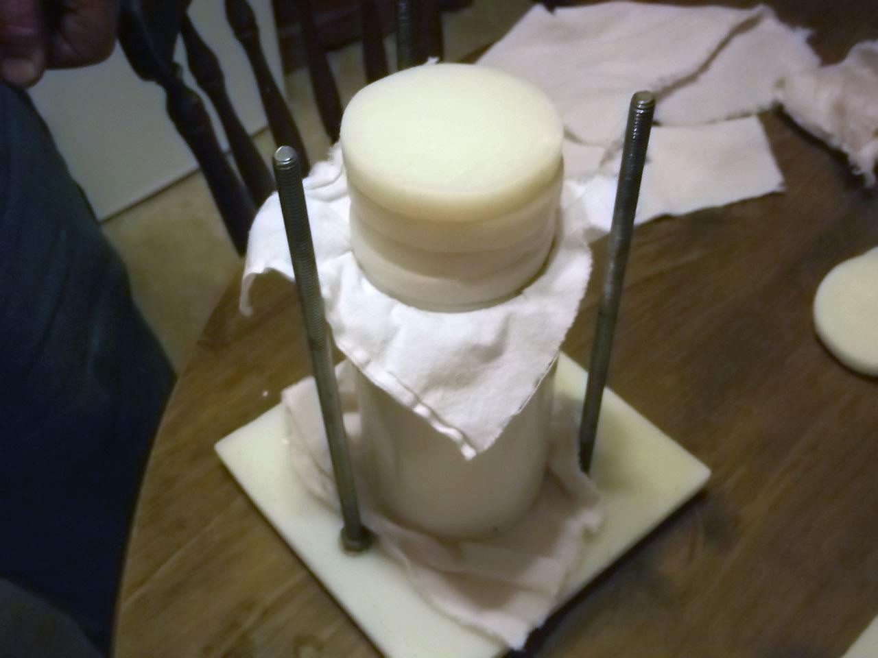 Homemade Cheese Press
