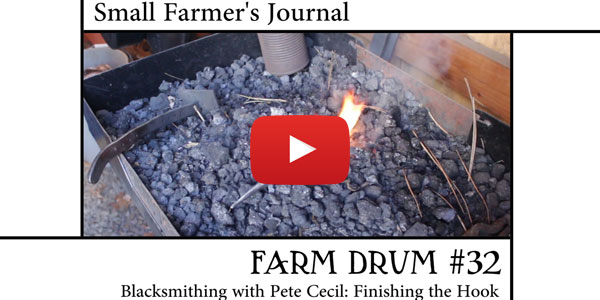 Farm Drum 32 Blacksmithing with Pete Cecil