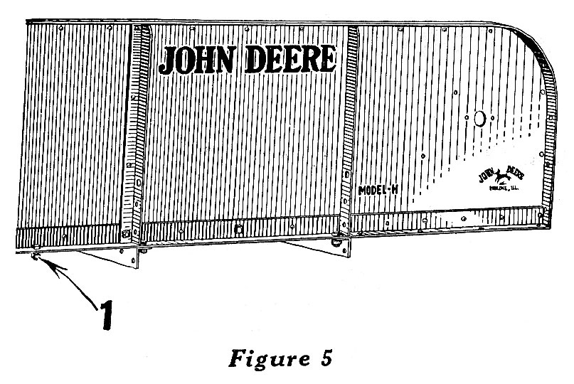 John Deere Model HH Spreader
