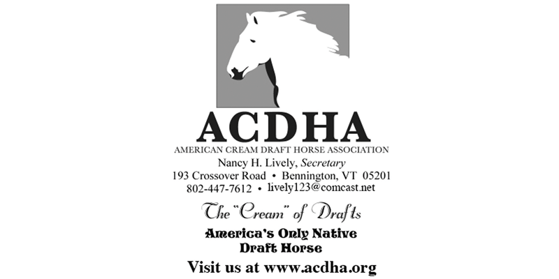 American Cream Draft Horse Association