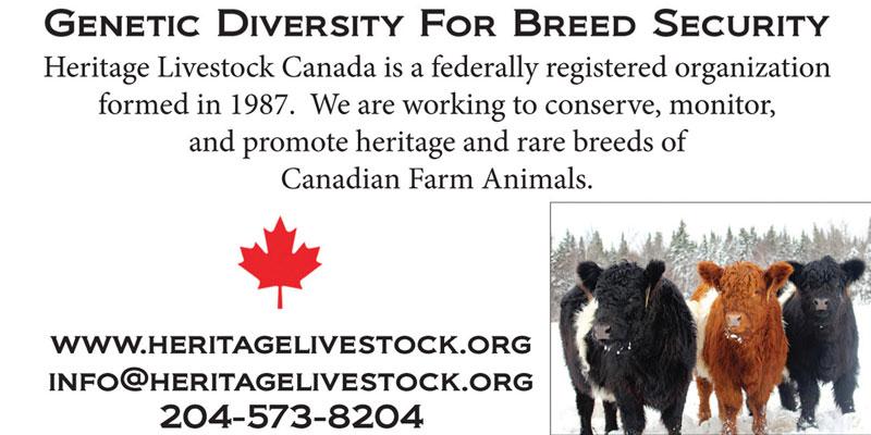 Heritage Livestock Canada