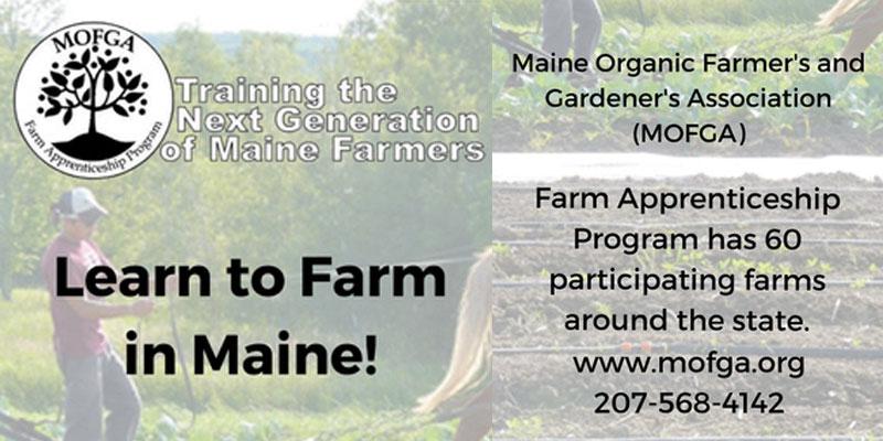 Maine Organic Farmer's and Gardener's Association