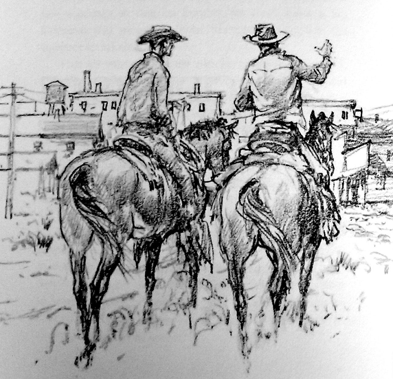 A Ben Green Cowboy Ride-Along