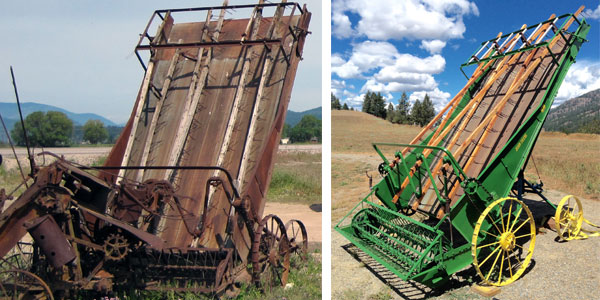 Rebuilding a John Deere Hay Loader