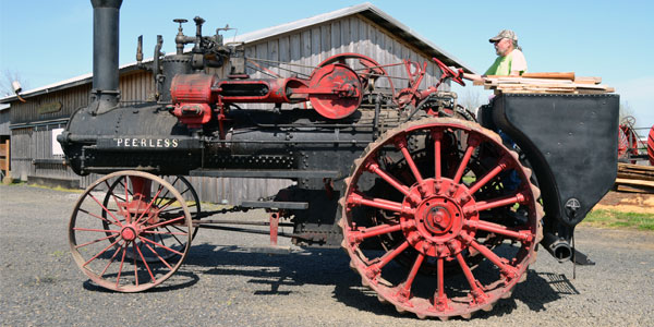 Yamhills Peerless Steam Tractor