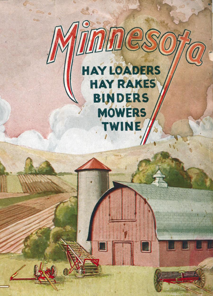 Old Minnesota Hay & Grain Implements