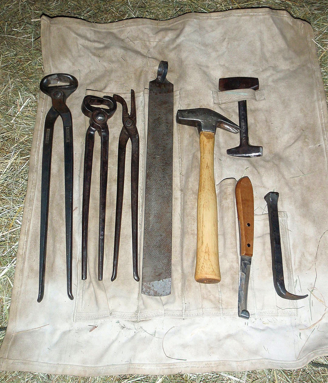 Farriers Tool Roll