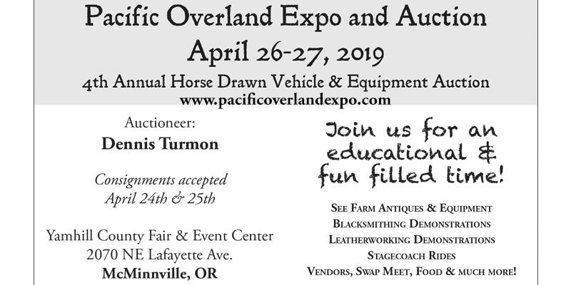 2019 Pacific Overland Expo and Auction