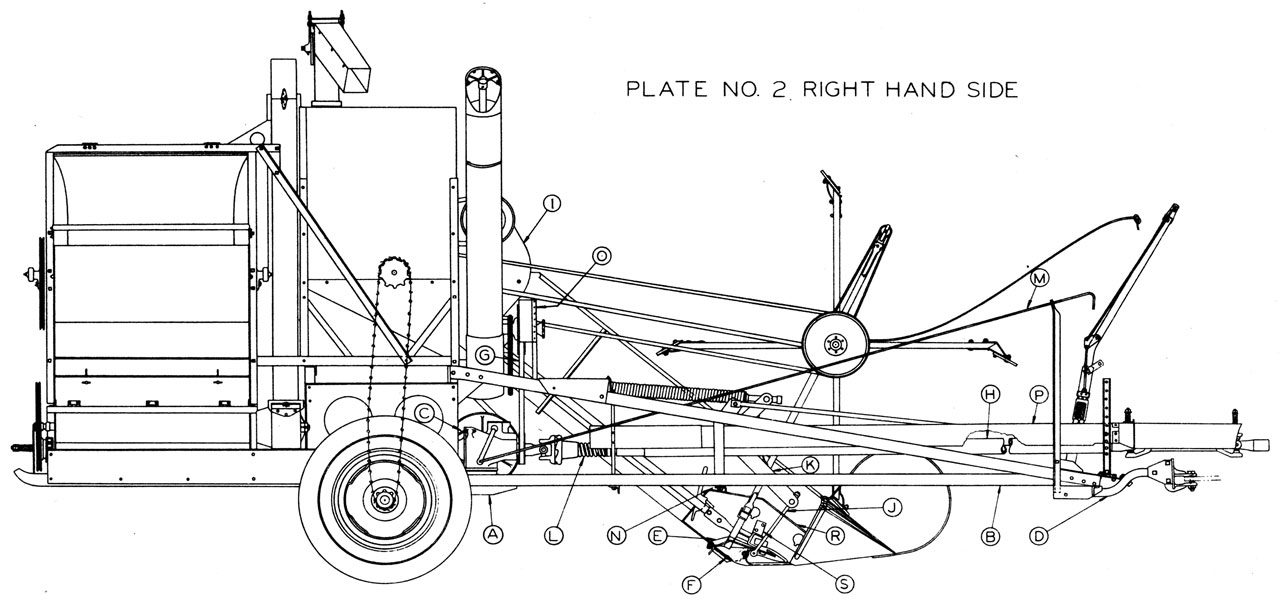 Allis-Chalmers 60 All Crop Harvester