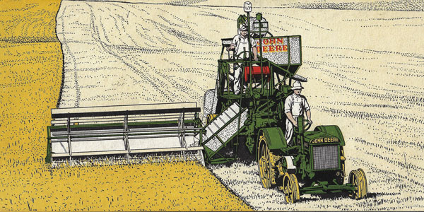 The John Deere No. 5 Combine