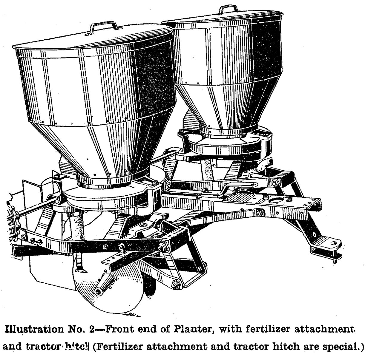 McCormick-Deering Two-Row Potato Planter
