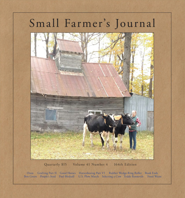 Small Farmers Journal Vol. 41 No. 4