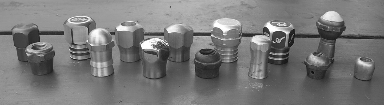 Ox Horn Knobs and Ox Tips