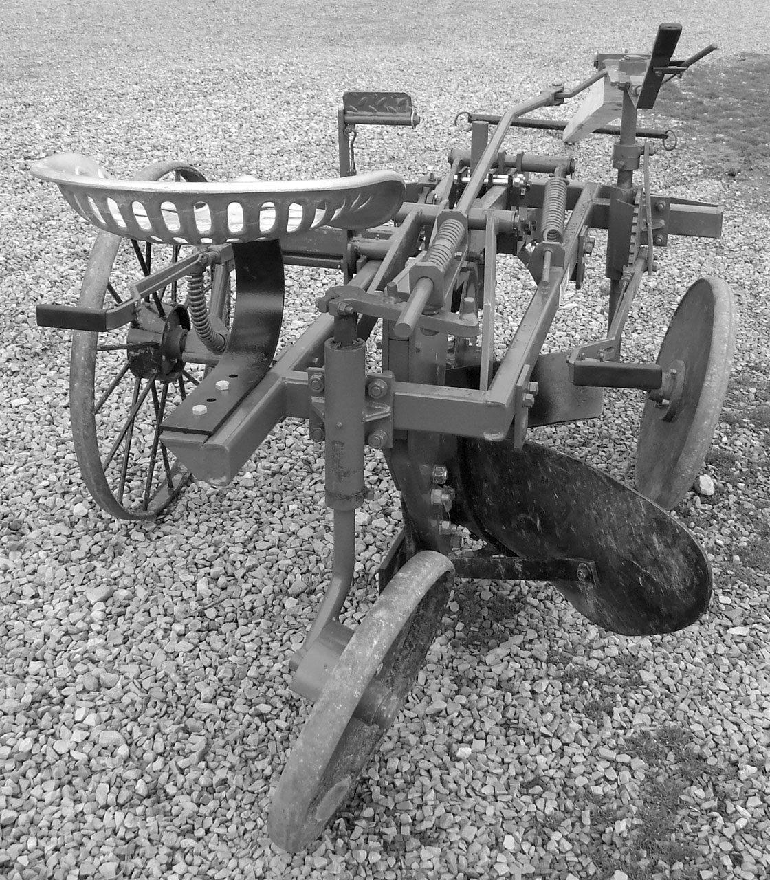 Pioneer Foot-Lift Sulky Plow