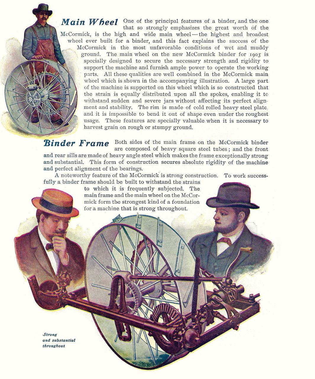 1903 McCormick Binder Brochure