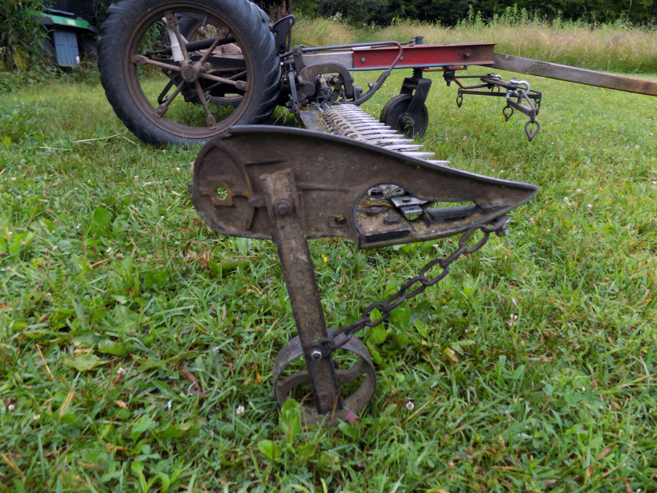 Mower Modifications for Cover Crop Cocktails