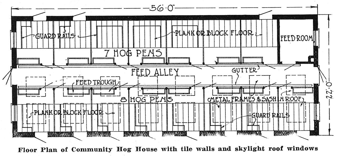 Hollow Tile Farm Buildings