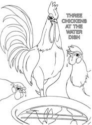 Farm Animal Coloring Book Page 7