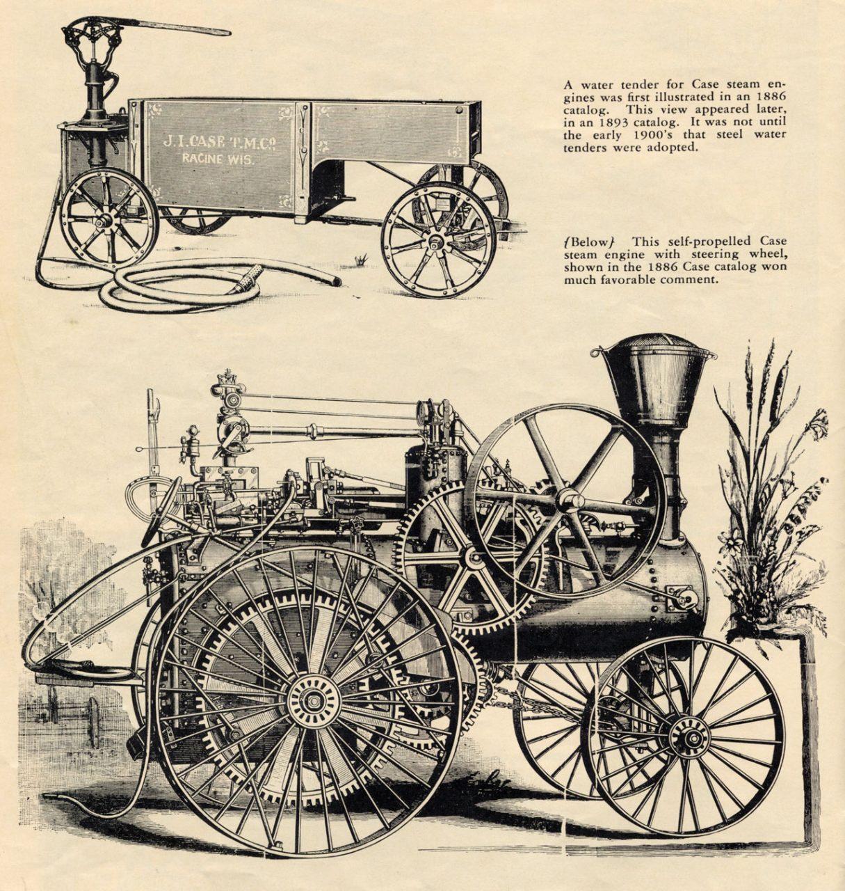 Scotch Carts Case Steam & an Ironsides Agitator