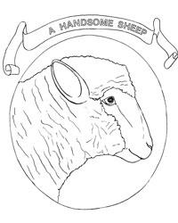 Farm Animal Coloring Book Page 30