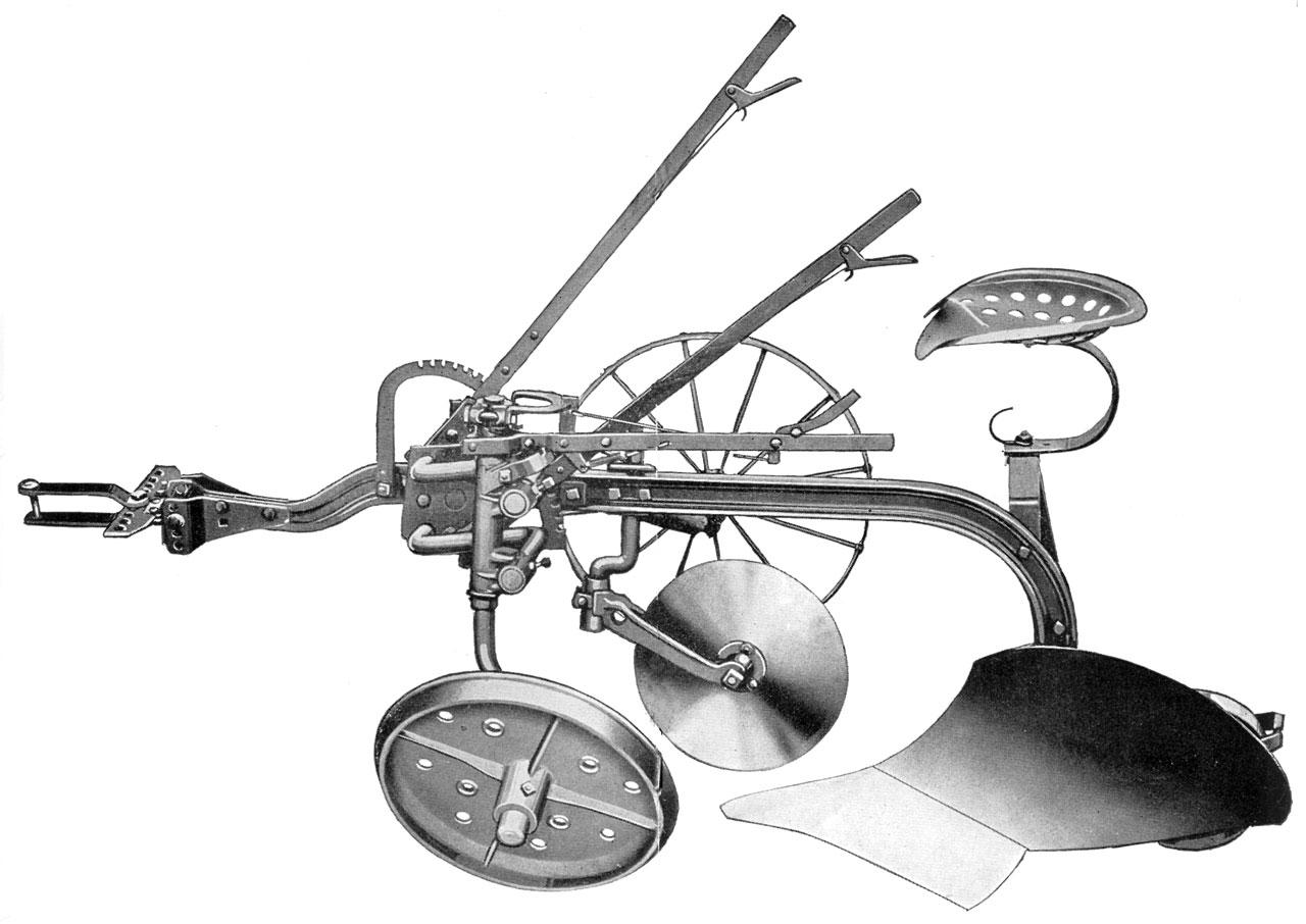 John Deere-Syracuse No 210 Sulky Plow