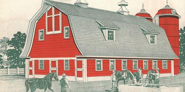Farm Buildings in Colors Part 2